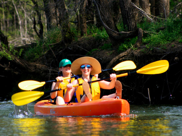 Guided Kayak Eco-Tours